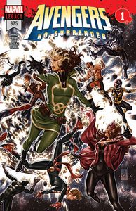 [Avengers #675 (3D Lenticular Main Cover) (Product Image)]