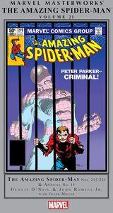 [Marvel Masterworks: Amazing Spider-Man: Volume 21 (Hardcover) (Product Image)]