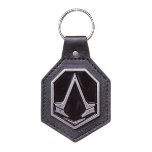 [Assassin's Creed: Syndicate: Keychain: Pu With Metal Logo Patch (Product Image)]