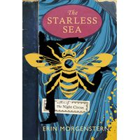 [Erin Morgenstern signing The Starless Sea (Product Image)]