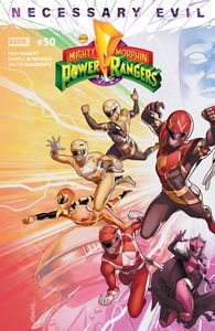 [Mighty Morphin Power Rangers #50 (Cover A Campbell) (Product Image)]