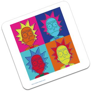 [Rick & Morty: Coaster: Pop Art Rick (Product Image)]