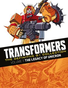 [Transformers: Definitive G1 Collection: Volume 39: Legacy Of Unicron (Product Image)]