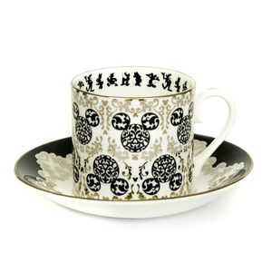 [Disney: Vintage Cup & Saucer: Mickey (Product Image)]