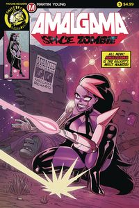 [Amalgama: Space Zombie #5 (Cover A Young) (Product Image)]