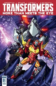[Transformers: More Than Meets Eye #51 (Product Image)]