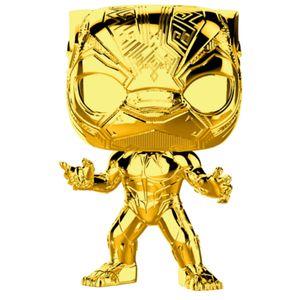 [Marvel Studios 10th Anniversary: Pop! Vinyl Figure: Black Panther Chrome (Product Image)]