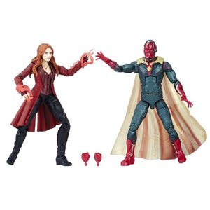 [Avengers: Infinity War: Marvel Legends Action Figure 2-Pack: Vision & Scarlet Witch (Product Image)]