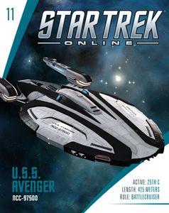 [Star Trek: Online Starships Magazine #11: Avenger Class Federation Battlecruiser (Product Image)]