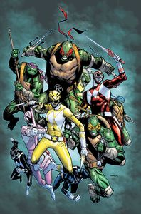 [Power Rangers/Teenage Mutant Ninja Turtles #2 (Cover H Ramos Variant) (Product Image)]