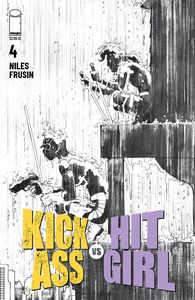 [Kick-Ass Vs Hit-Girl #4 (Cover B Black & White Romita Jr) (Product Image)]