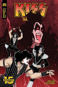 [Kiss: The End #5 (Cover C Medri) (Product Image)]