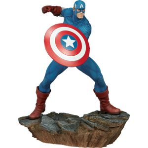 [Marvel: Avengers Assemble: Statue: Captain America (Product Image)]