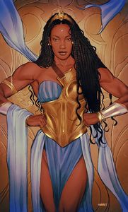 [Nubia & The Amazons #1 (Cover D Joshua Swaby Cardstock Variant) (Product Image)]