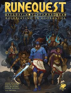 [RuneQuest: Roleplaying In Glorantha Core Rulebook (Hardcover) (Product Image)]