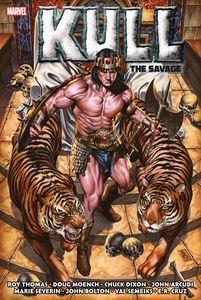 [Kull Savage: Original Marvel Years: Omnibus (Brooks Cover Hardcover) (Product Image)]