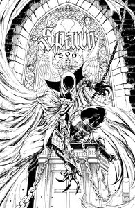 [Spawn #300 (Cover N Campbell B&W Variant) (Product Image)]