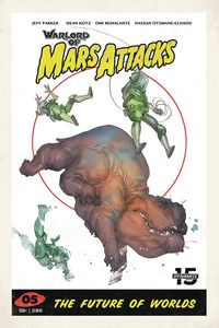 [Warlord Of Mars Attacks #5 (Cover D Caldwell) (Product Image)]