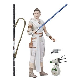 [Star Wars: The Rise Of Skywalker: Black Series Action Figures: Rey & D-0 (Product Image)]
