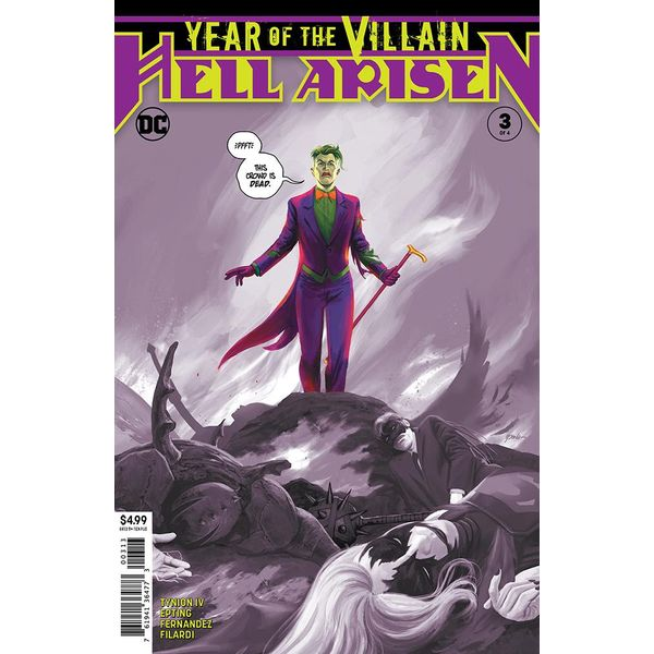 [The cover for Year Of The Villain: Hell Arisen #3 (Of 4) (3rd Printing)]