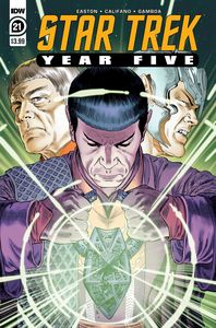 [Star Trek: Year Five #21 (Product Image)]