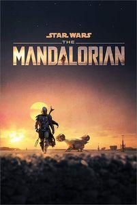 [Star Wars: The Mandalorian: Poster: Dusk (Product Image)]