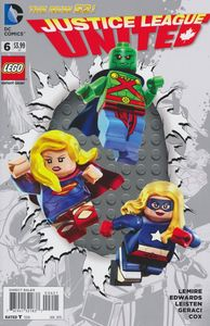 [Justice League: United #6 (Lego Variant Edition) (Product Image)]