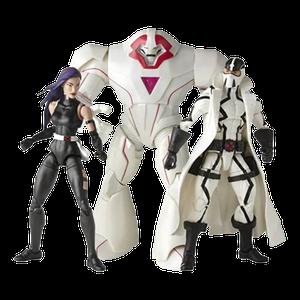 [X-Men: Marvel Legends Action Figure Set: Psylocke, Nimrod & Fantomex (Product Image)]