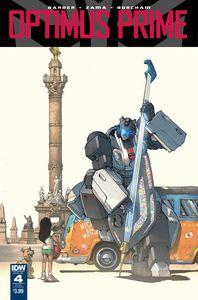 [Optimus Prime #4 (Subscription Variant B) (Product Image)]