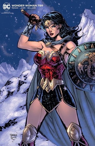 [Wonder Woman #759 (Card Stock Jim Lee Variant Edition) (Product Image)]