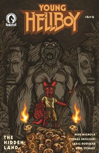 [Young Hellboy: The Hidden Land #4 (Cover B Carpenter) (Product Image)]