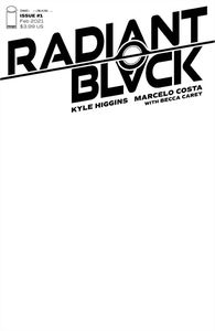 [Radiant Black #1 (Cover C Blank Cover) (Product Image)]