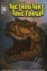 [Land That Time Forgot #1 (Painted Cover Signed) (Product Image)]