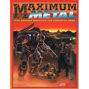 [Cyberpunk 2020: RPG: Maximum Metal (Product Image)]