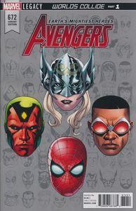 [Avengers #672 (Mckone Legacy Headshot Variant Leg) (Product Image)]