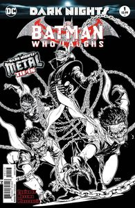 [Batman Who Laughs #1 (3rd Printing) (B&W Cover) (Metal) (Product Image)]