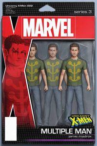 [Uncanny X-Men #2 (Christopher Action Figure Variant) (Product Image)]