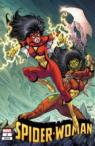 [Spider-Woman #1 (Nauck Villains Variant) (Product Image)]