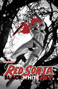 [Red Sonja: Black White Red #4 (Cover B Staggs) (Product Image)]