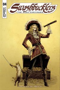 [Swashbucklers: The Saga Continues #4 (Cover A Guice) (Product Image)]