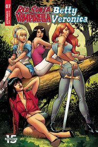 [Red Sonja & Vampirella Meet Betty & Veronica #7 (Cover E Sanapo) (Product Image)]