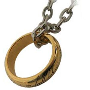 [Lord Of The Rings: The One Ring Costume Ring (Product Image)]