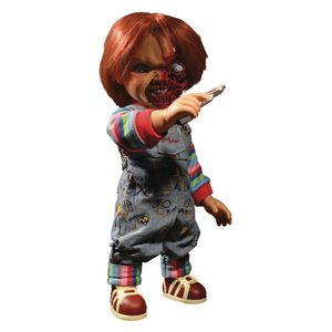 [Child's Play 3: Designer Series Action Figure: Mega Talking Pizza Face Chucky (Product Image)]