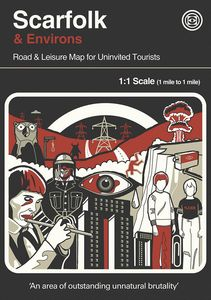 [Scarfolk & Environs: Road & Leisure Map For Uninvited Tourists (Product Image)]