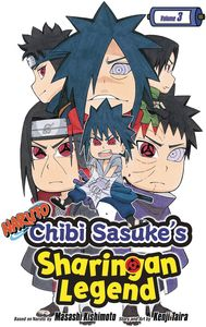 [Naruto: Chibi Sasuke's Sharingan Legend: Volume 3 (Product Image)]
