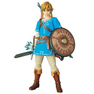 [The Legend Of Zelda: Breath Of The Wild: RAH Action Figure: Link (Product Image)]