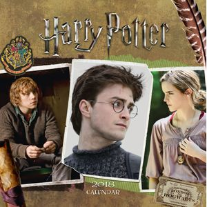 [Harry Potter: 2018 Square Calendar (Product Image)]