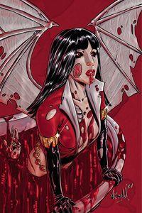 [Vampirella: Dark Powers #2 (Federici Zombie Virgin Variant) (Product Image)]