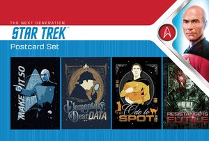 [Star Trek: The Next Generation: Postcard Pack: Make It So! (Product Image)]