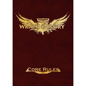 [Warhammer 40K: Wrath & Glory: Core Rulebook (Limited Edition Red Hardcover) (Product Image)]